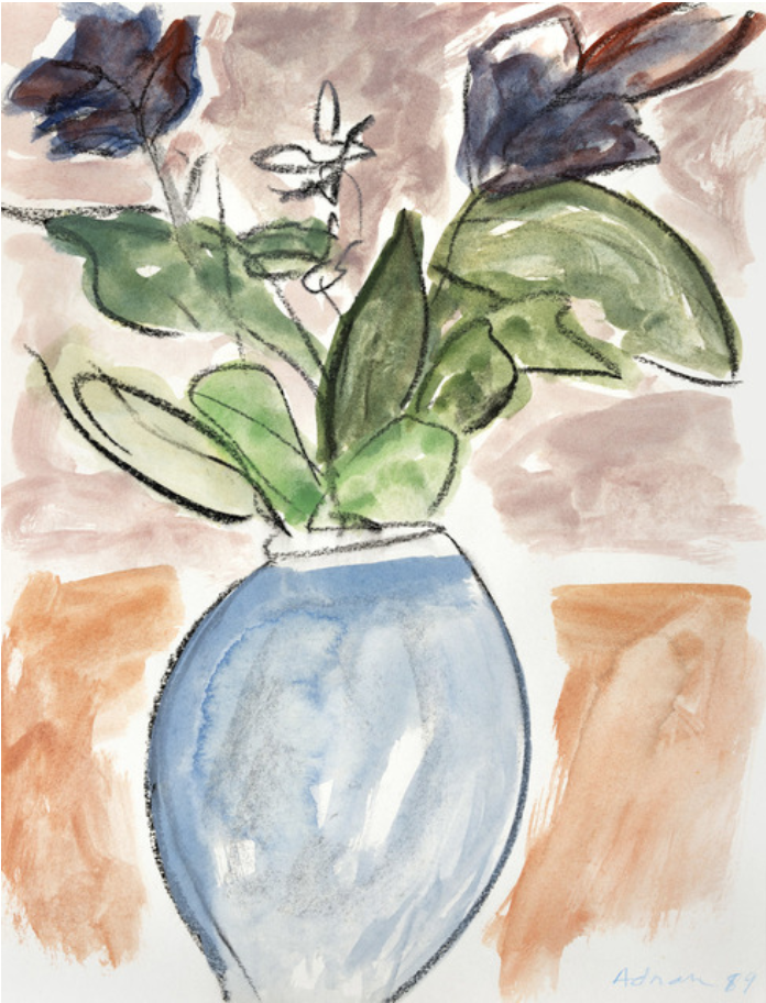 Fleurs II, 1989