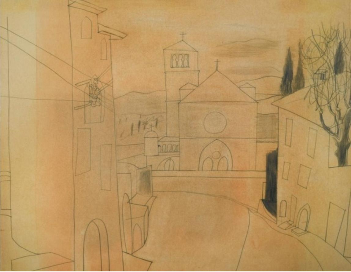 Assisi, 1955