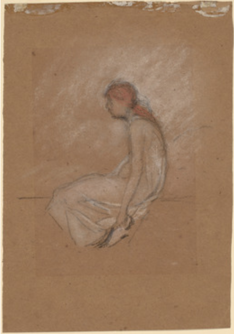 Seated Woman with Red Hair, 1870/1873