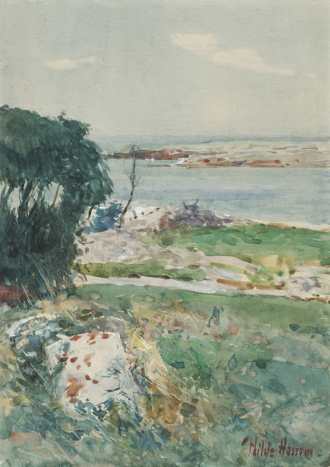 Summer Afternoon, Appledore, mid-1890s, by Childe Hassam
