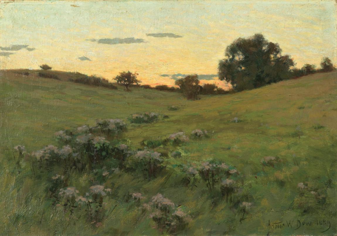 Flowering Field, 1889