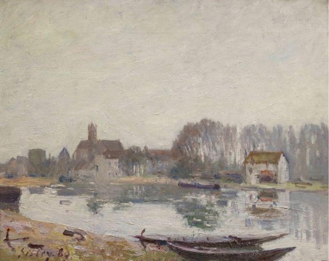 Moret-sur-Loing, 1889