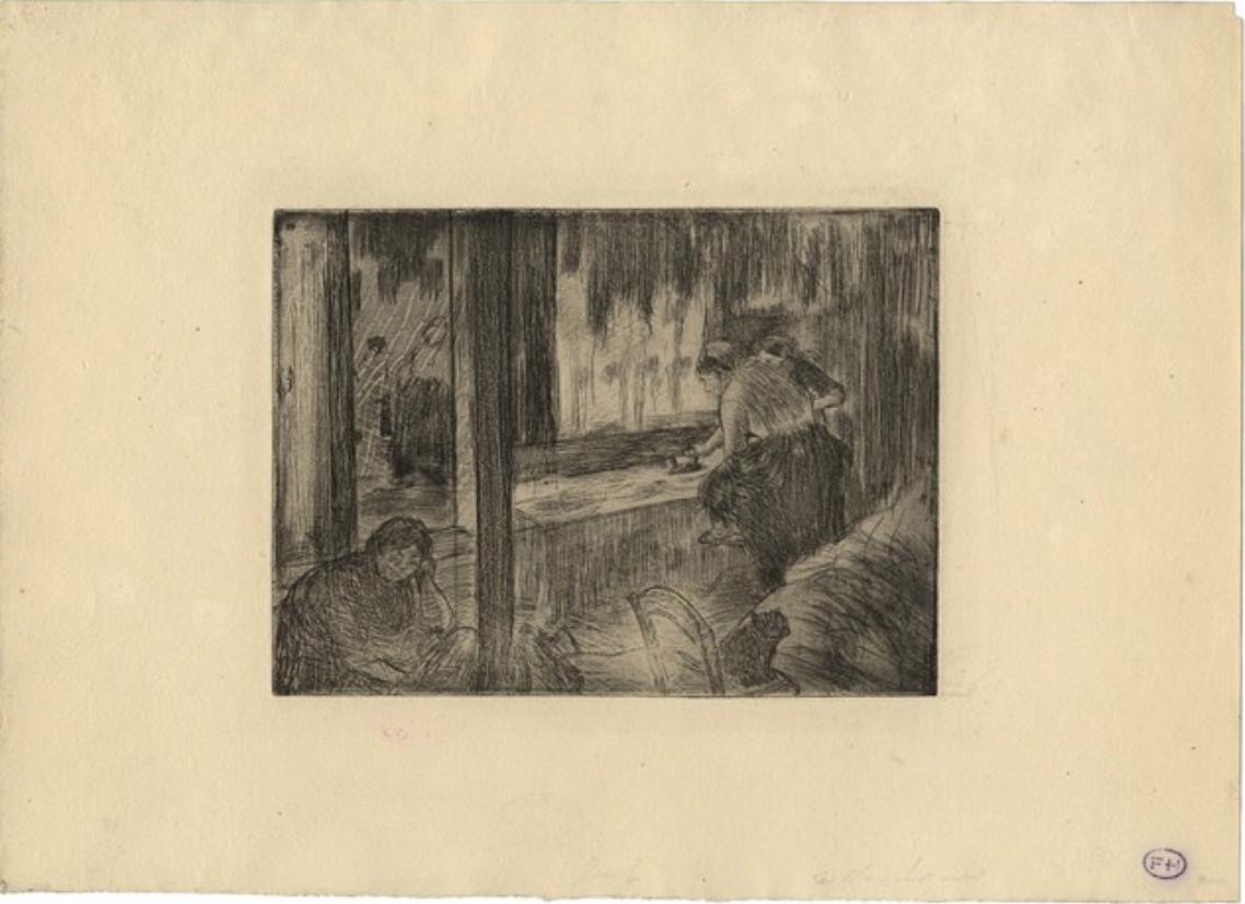 Les Blanchisseuses, 1879-1880