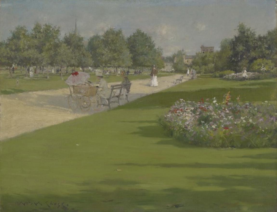 Tompkins Park, Brooklyn, 1887