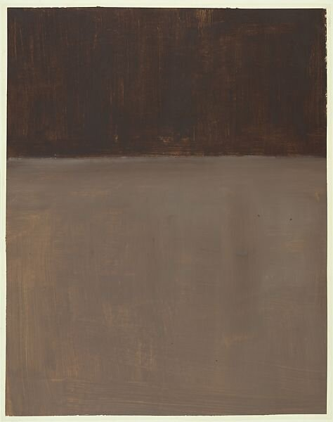 Untitled (Brown and Gray), 1969