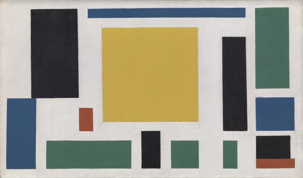 Composition VIII (The Cow), 1918