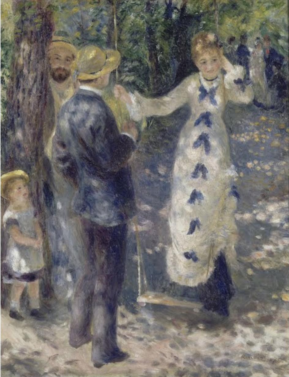 La Balançoire, 1876