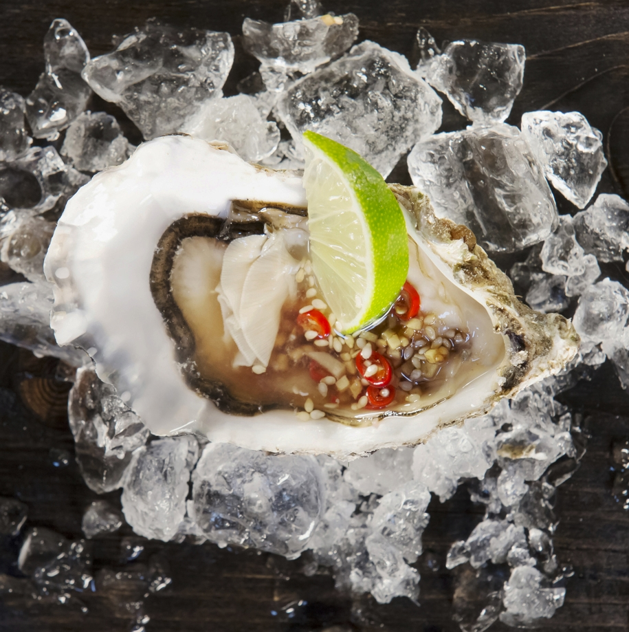 Scallop with Ginger and Lime