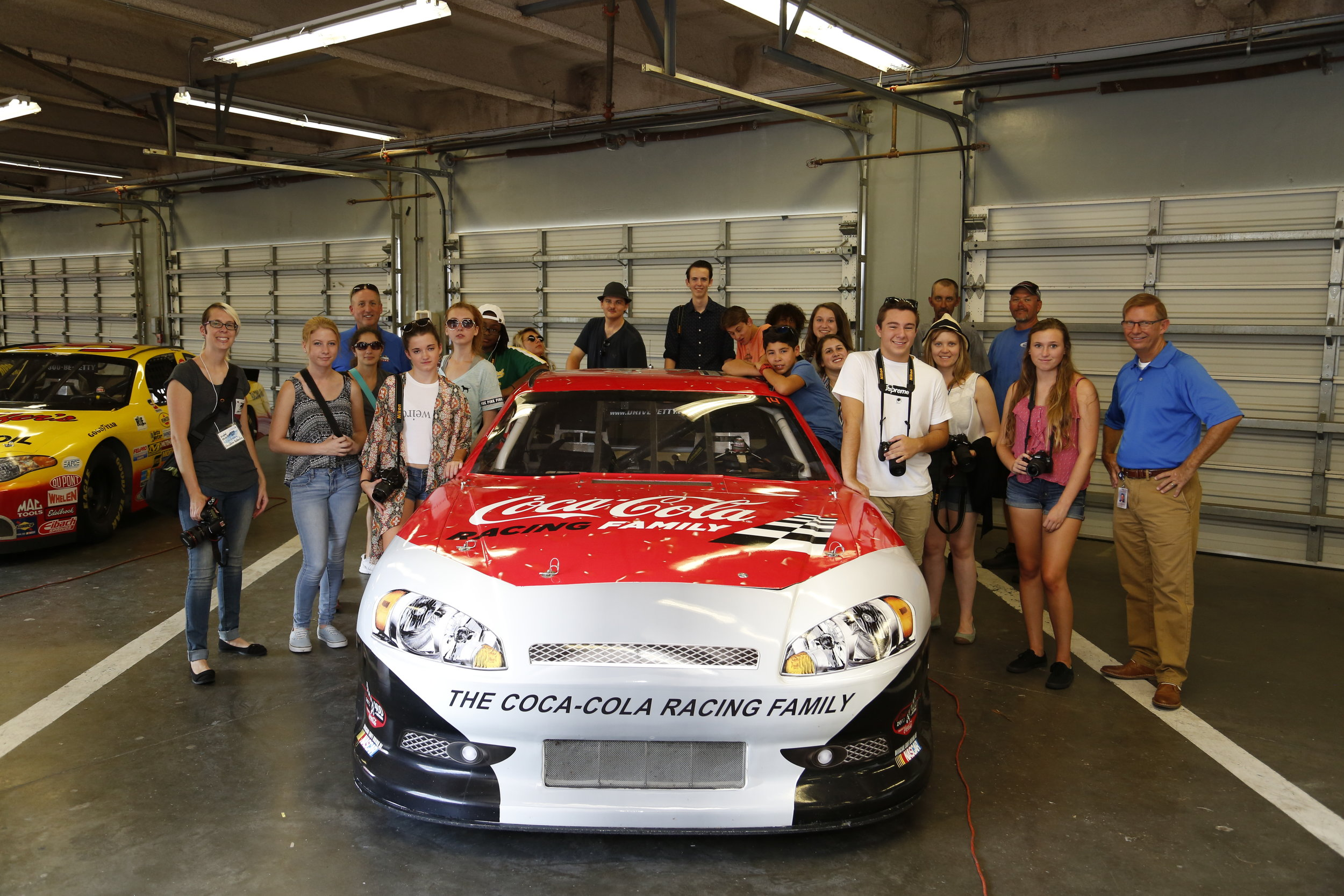 Academy students on a field trip at the Daytona International Speedway in Daytona Beach, FL. Special thanks to photographer Jared East and Media Specialist Mike Meadows for our special VIP tour.