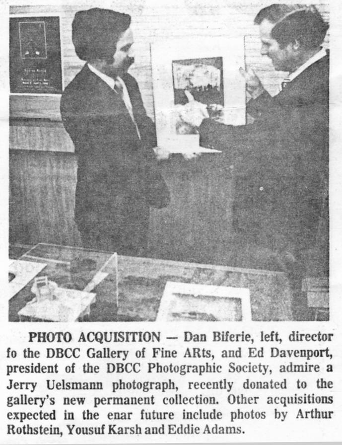 Dan Biferie and Ed Davenport, article from the Daytona Beach News Journal, 1982