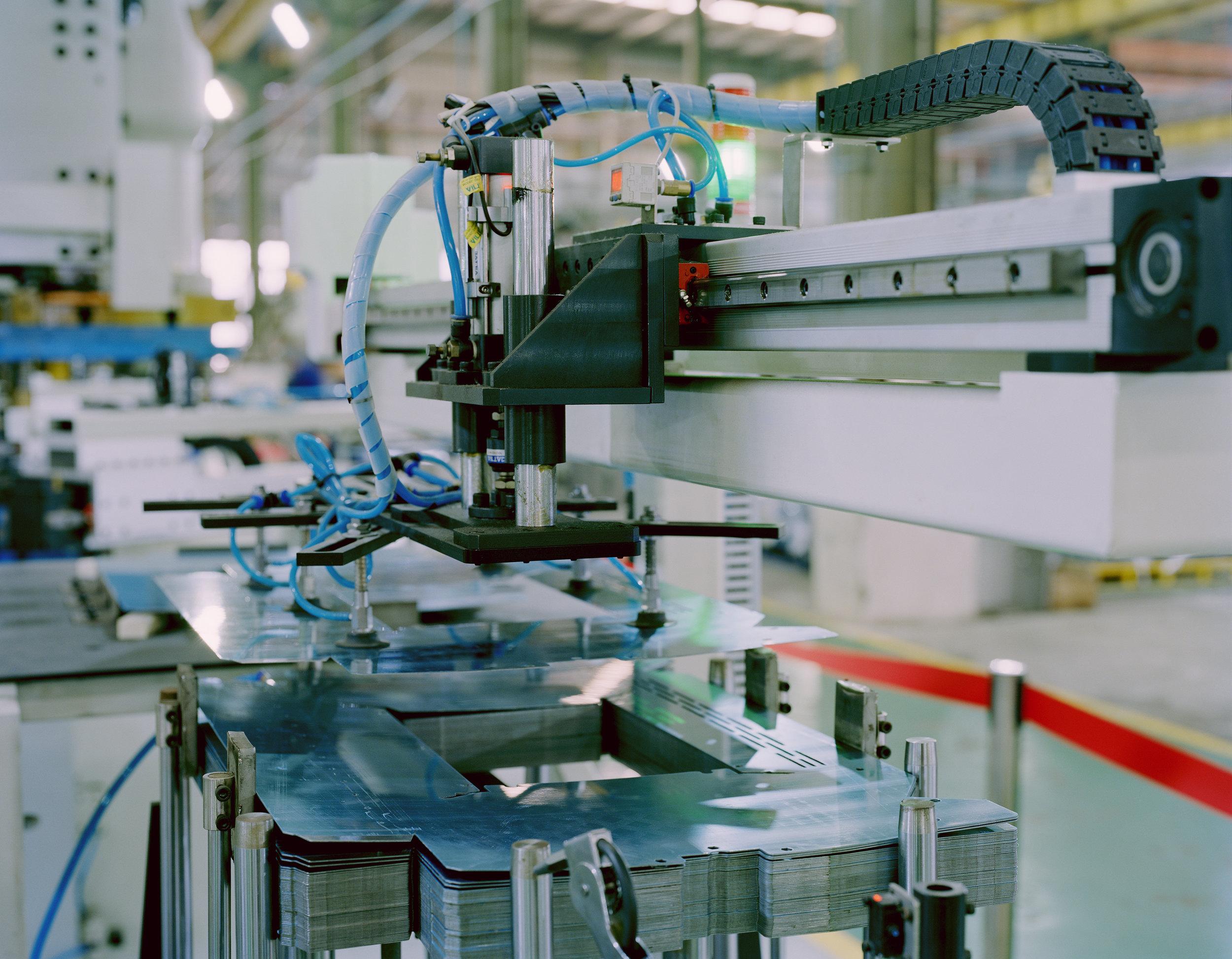 Robotic Welding , China  24x30 Archival Pigment Print  2016