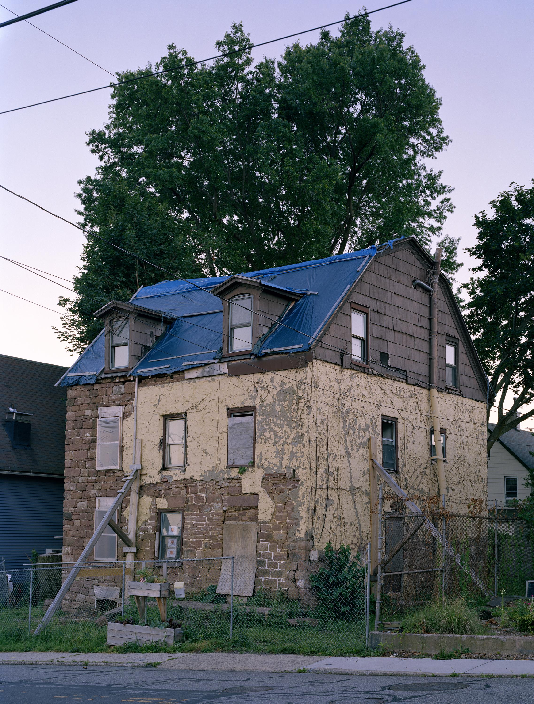 Abandoned House , Nyack, New York  30x40 Archival Pigment Print  2017