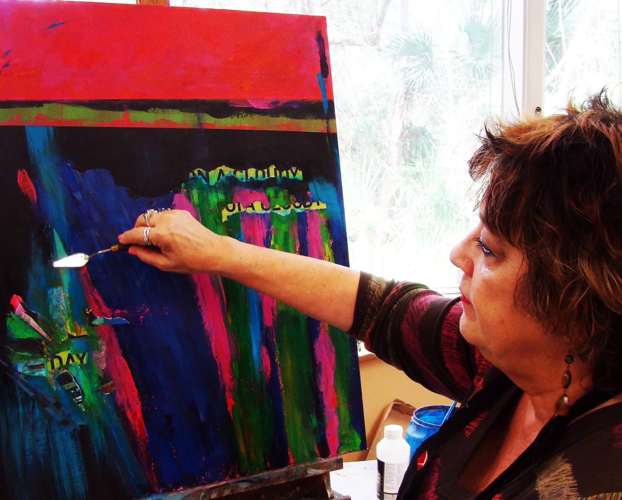 Guest Artist: Babz Lupoli - Collecting art has always given me great pleasure. My home is a gallery with a wide range of genres ~ pieces that calm me and inspire me ~ they have become part of my soul. And now, I create art that I want to share with the world. We all need to surround ourselves with beauty and inspiration reflected in the shapes, patterns and colors of our planet.Choose art in all of its forms... You will be enriched.-Babz Lupoli
