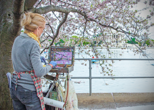 Guest Artist: Candy Barr - Candy Barr is a plein air,