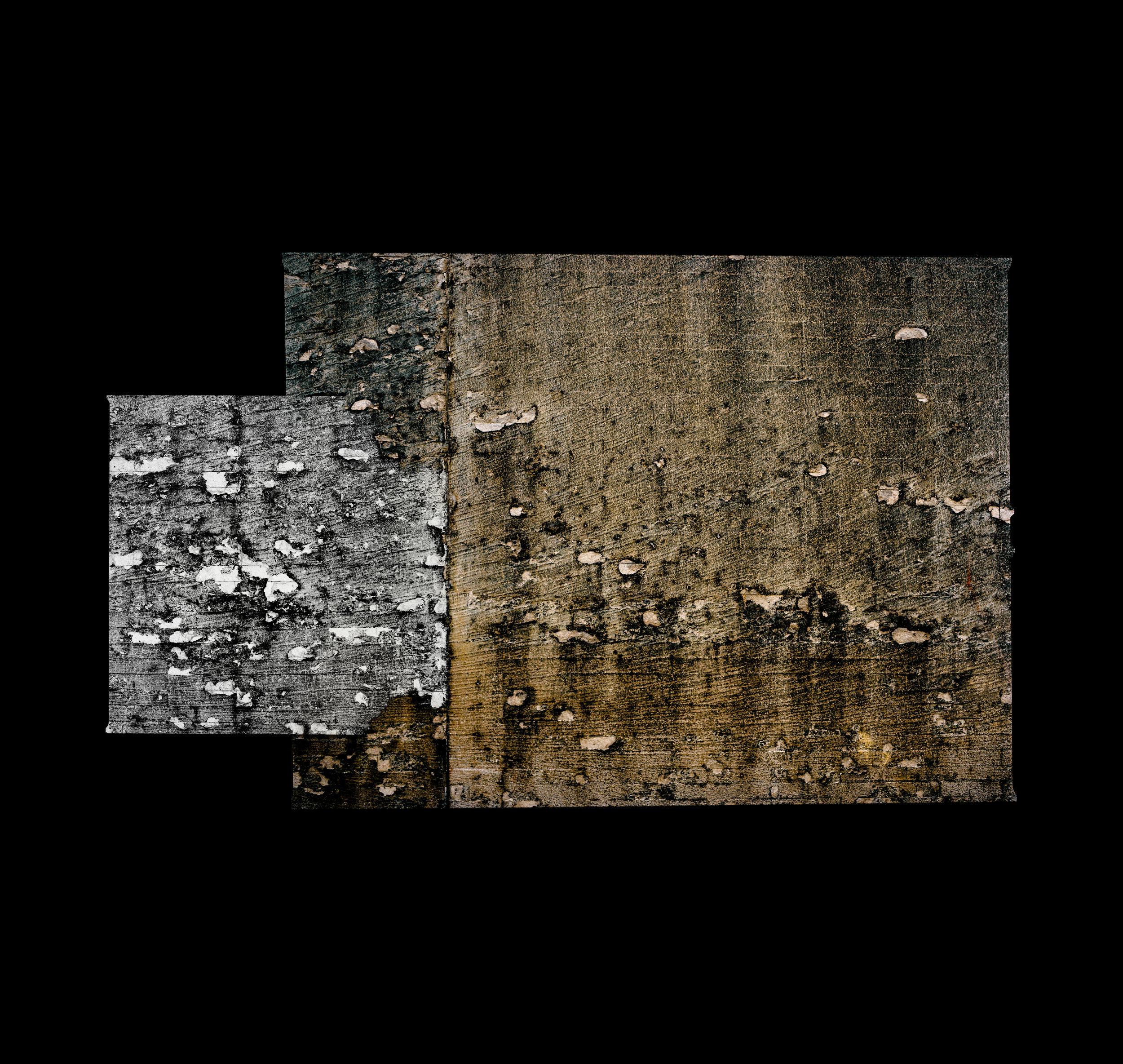 Micheal Soluri  Saturn V, Burn Marks East Wall