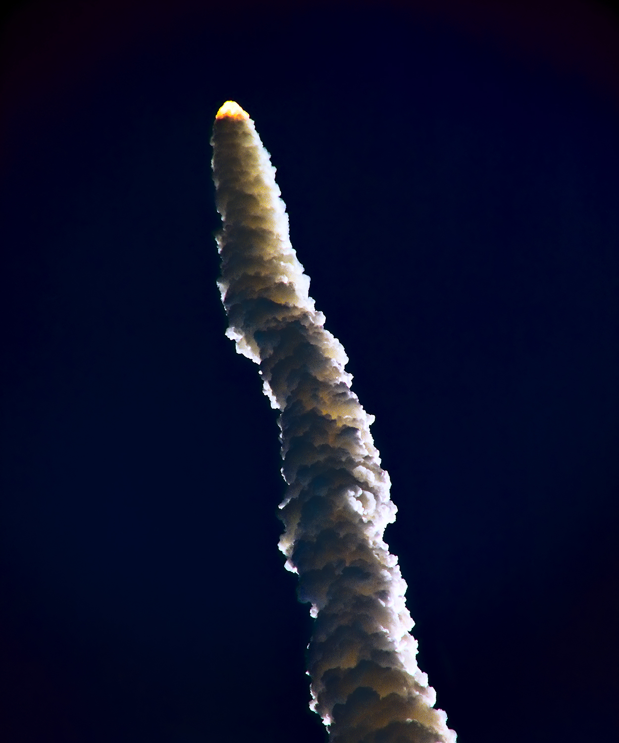Challenger Mission 41B, Climb Out, 1984