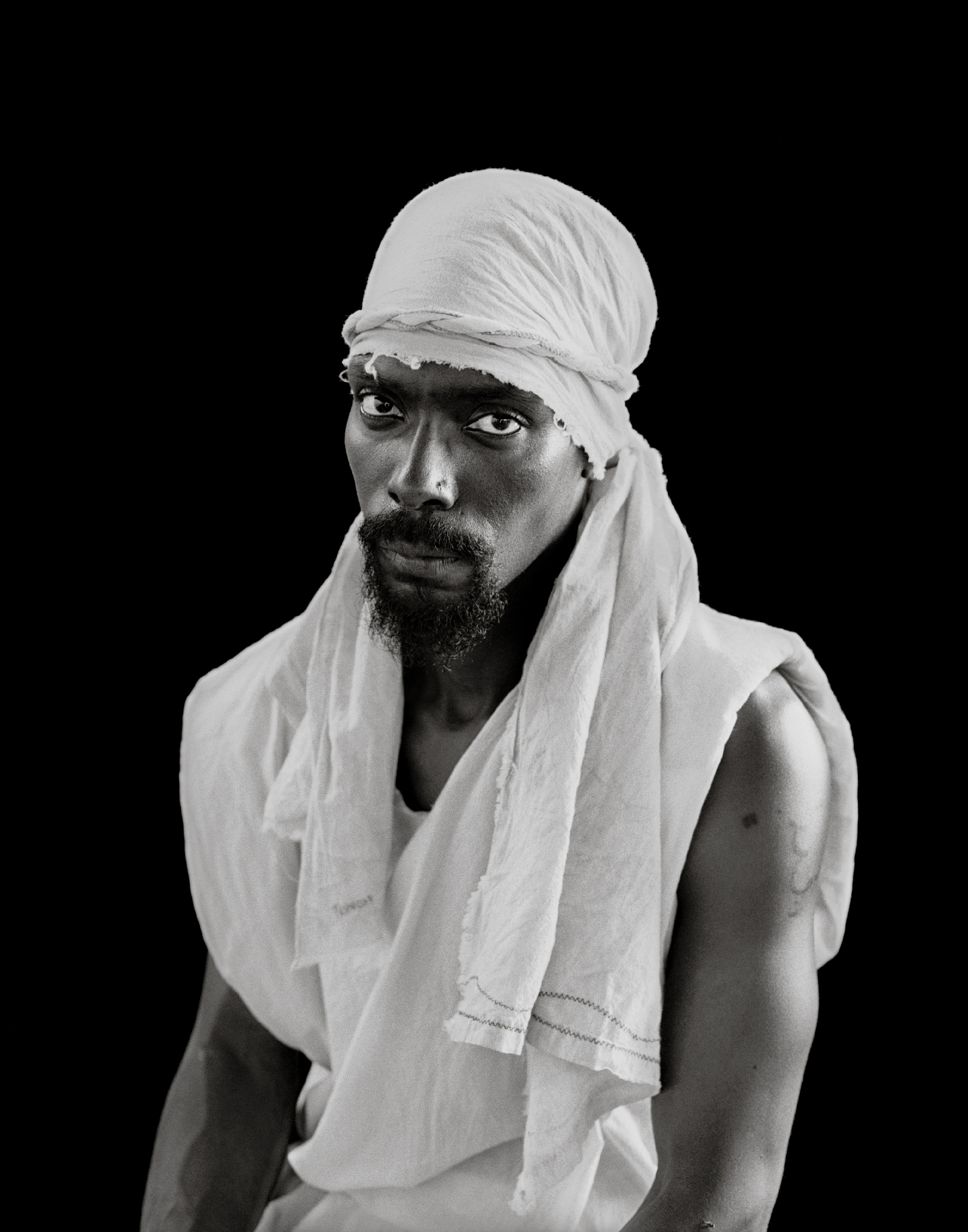 "Deborah Luster,  Earl ""Trinidad"" Davis (John the Baptist) , from the series  Passion Play , 2012-13"