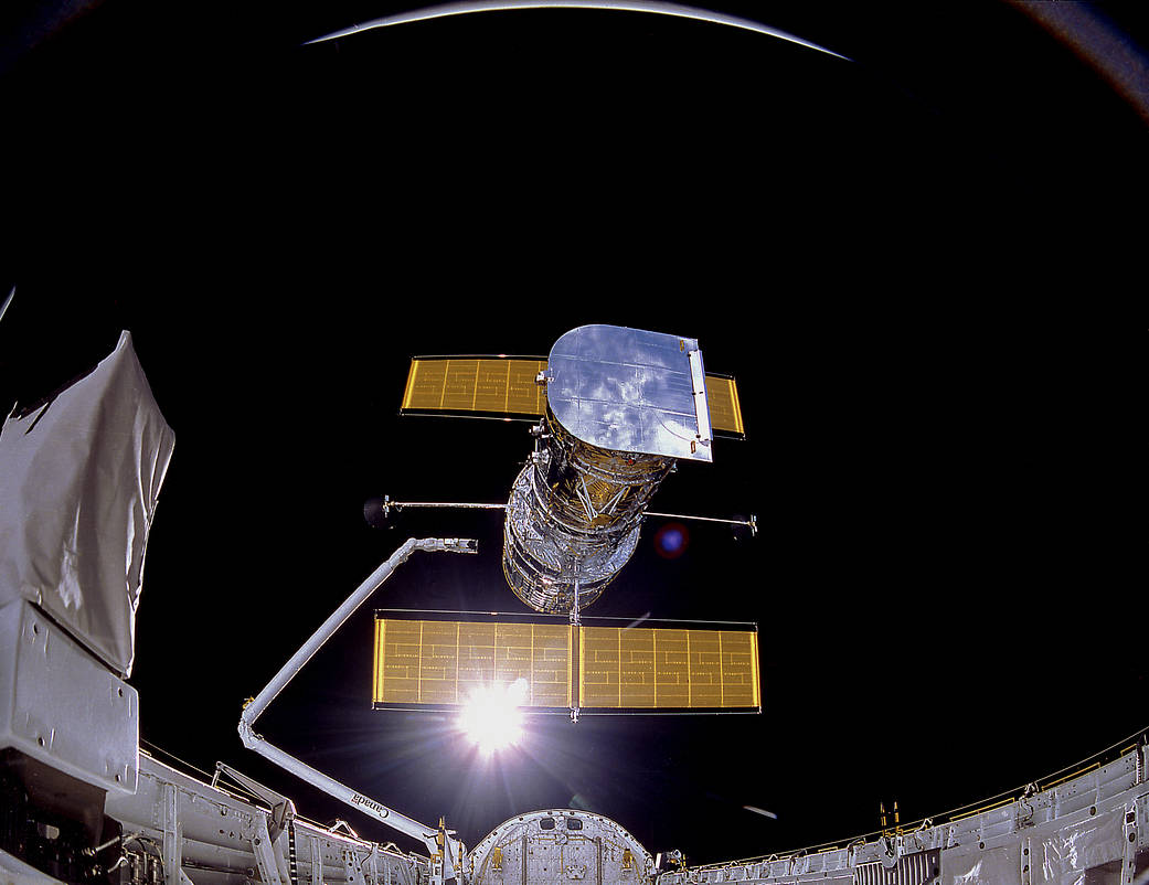 Hubble Space Telescope  © NASA