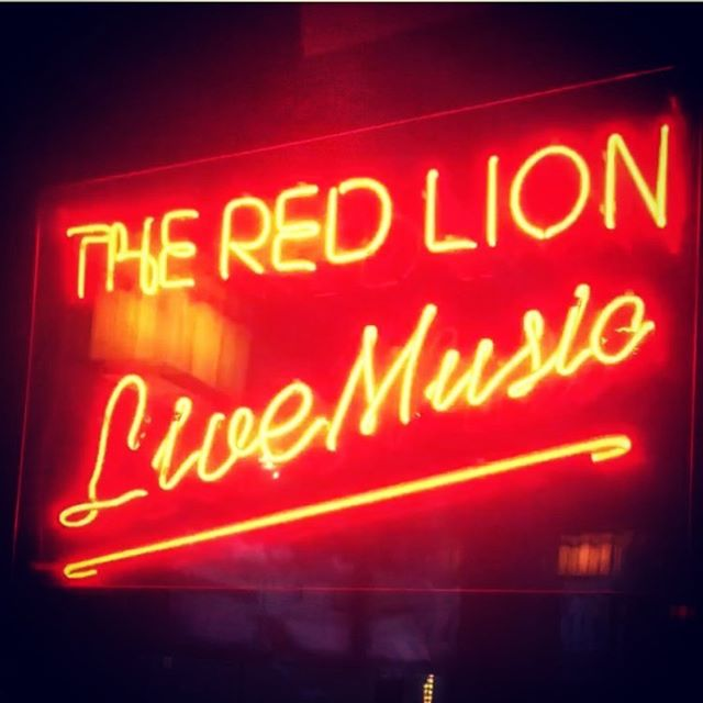 Tonight! 7:30-10:30 at @redlionnyc 🤘🏼