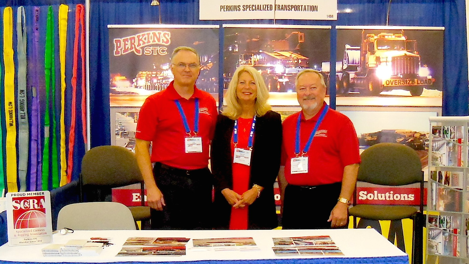 Ron Donahoo, Shelley Latham, and Ray Morgan