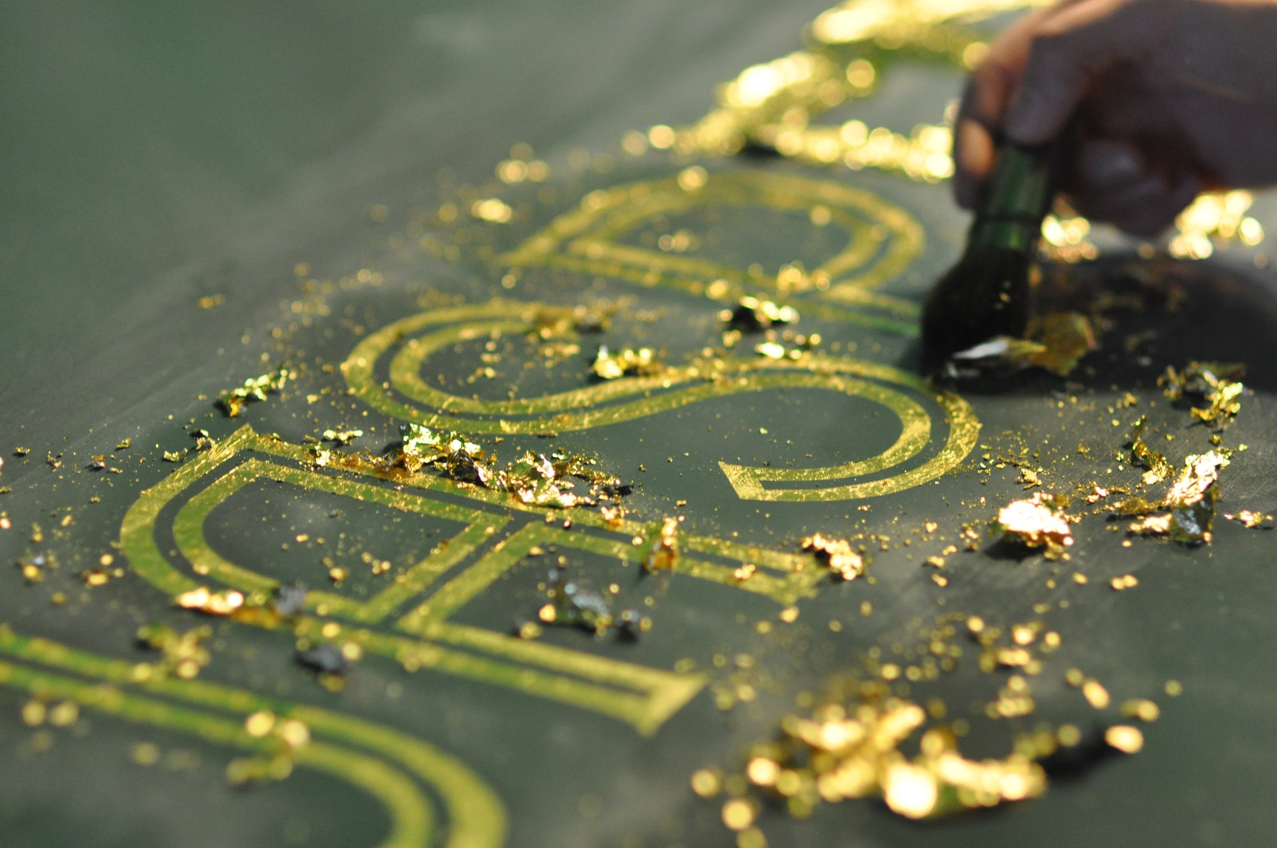 Surface Gilding