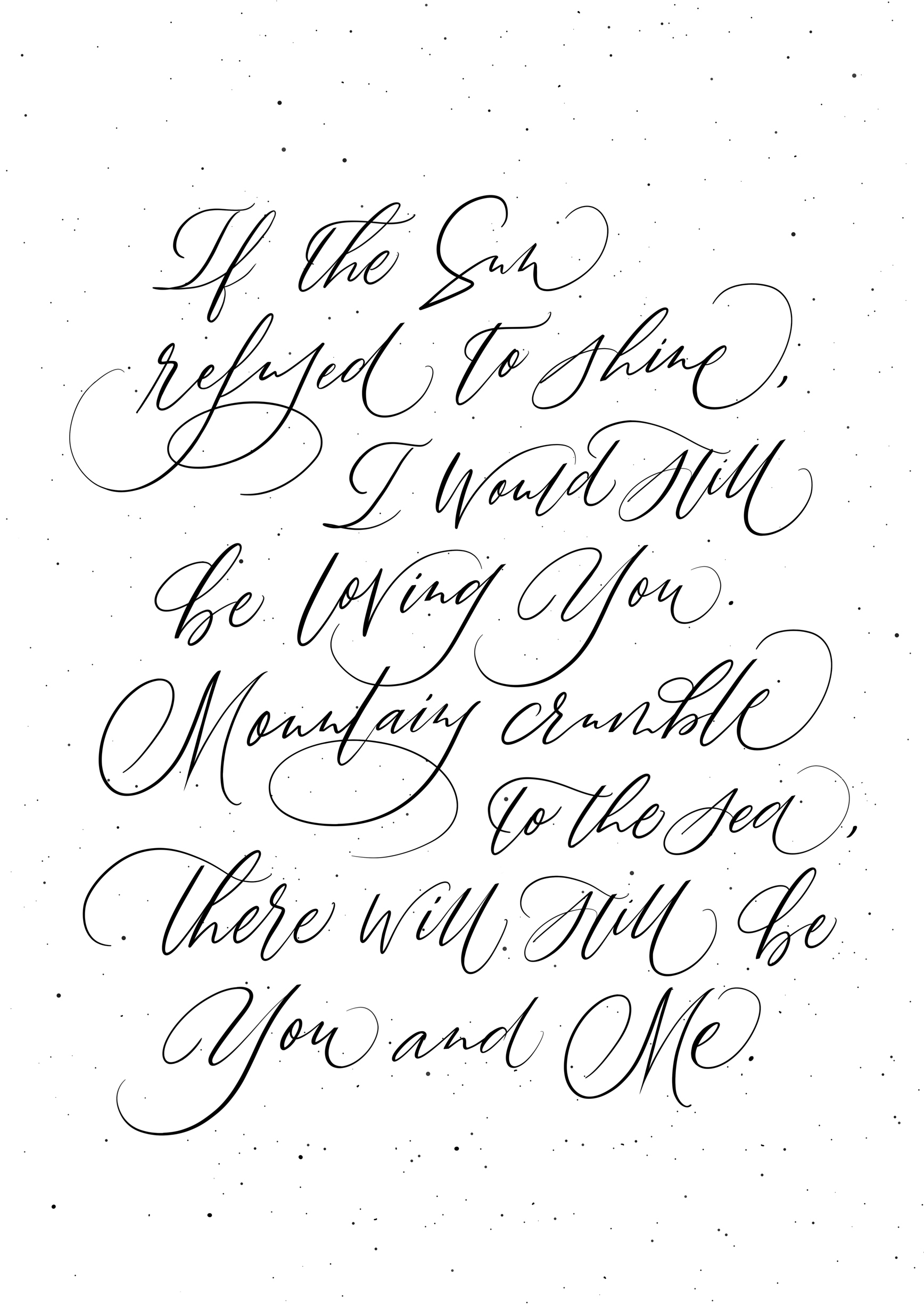 Wedding Modern Calligraphy Gift Poster Customized.jpg