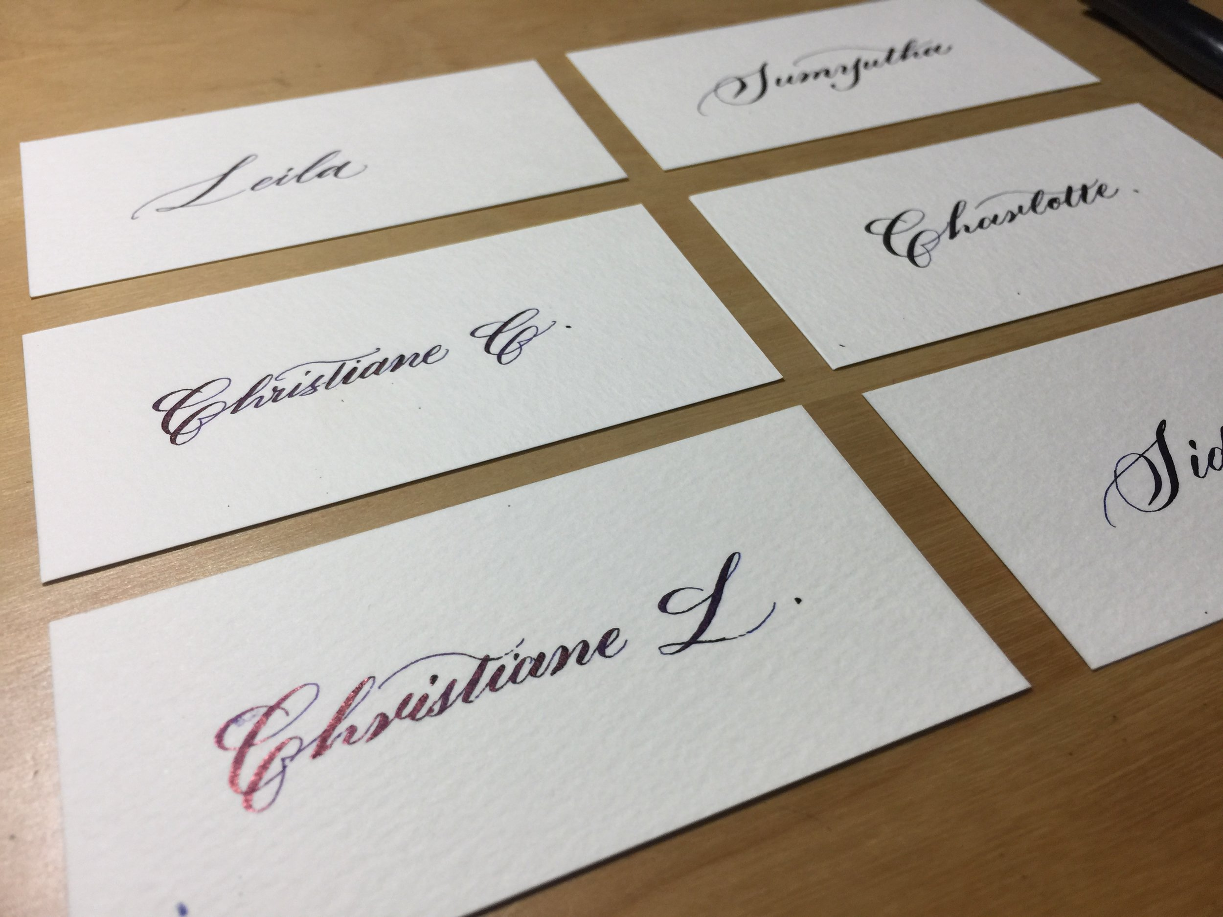 LeahDesign Calligraphy Placecards.JPG