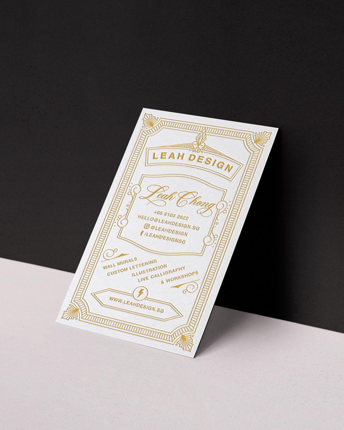 Leah Design Business Card Design Letterpress.jpg