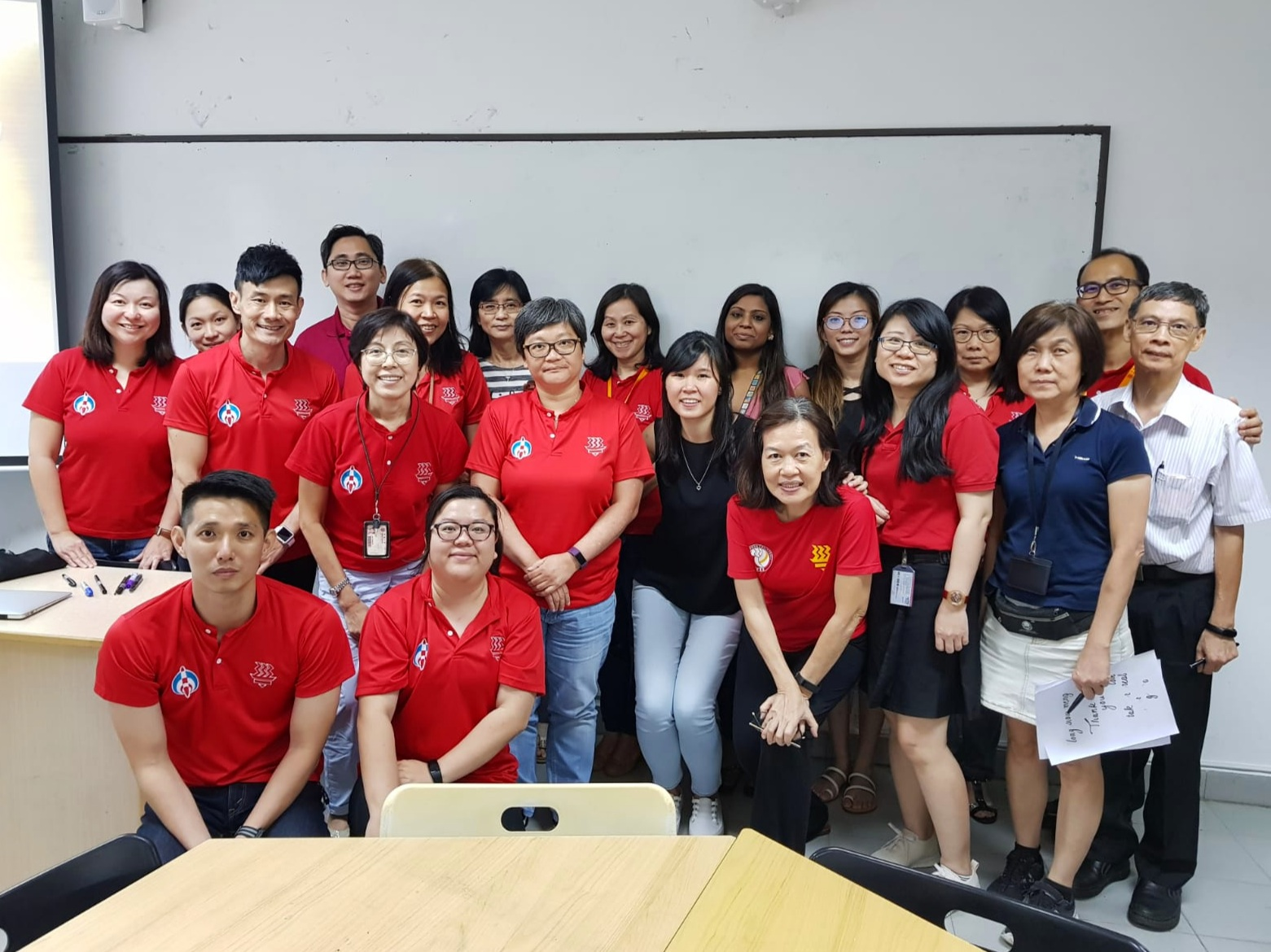 Team-building Calligraphy Workshop | Client: Hwa Chong Institution | Role: Teaching