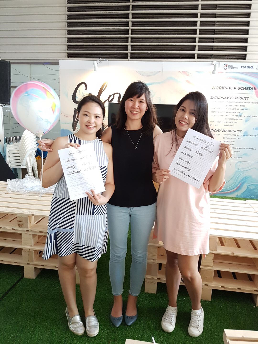 Singapore Press Holdings x Colour Me Palette Event