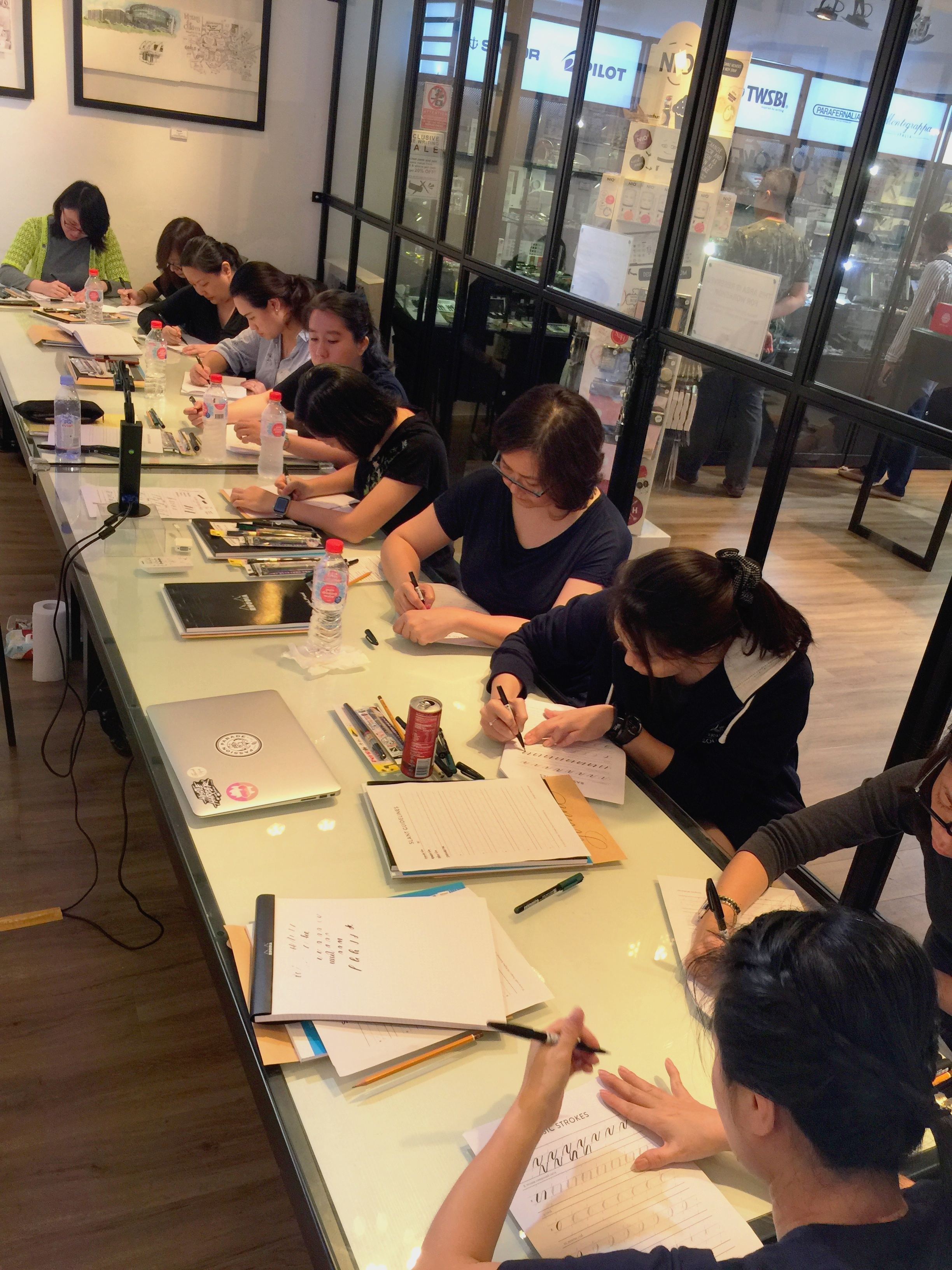 Brush Calligraphy Workshops @ Overjoyed Art Store