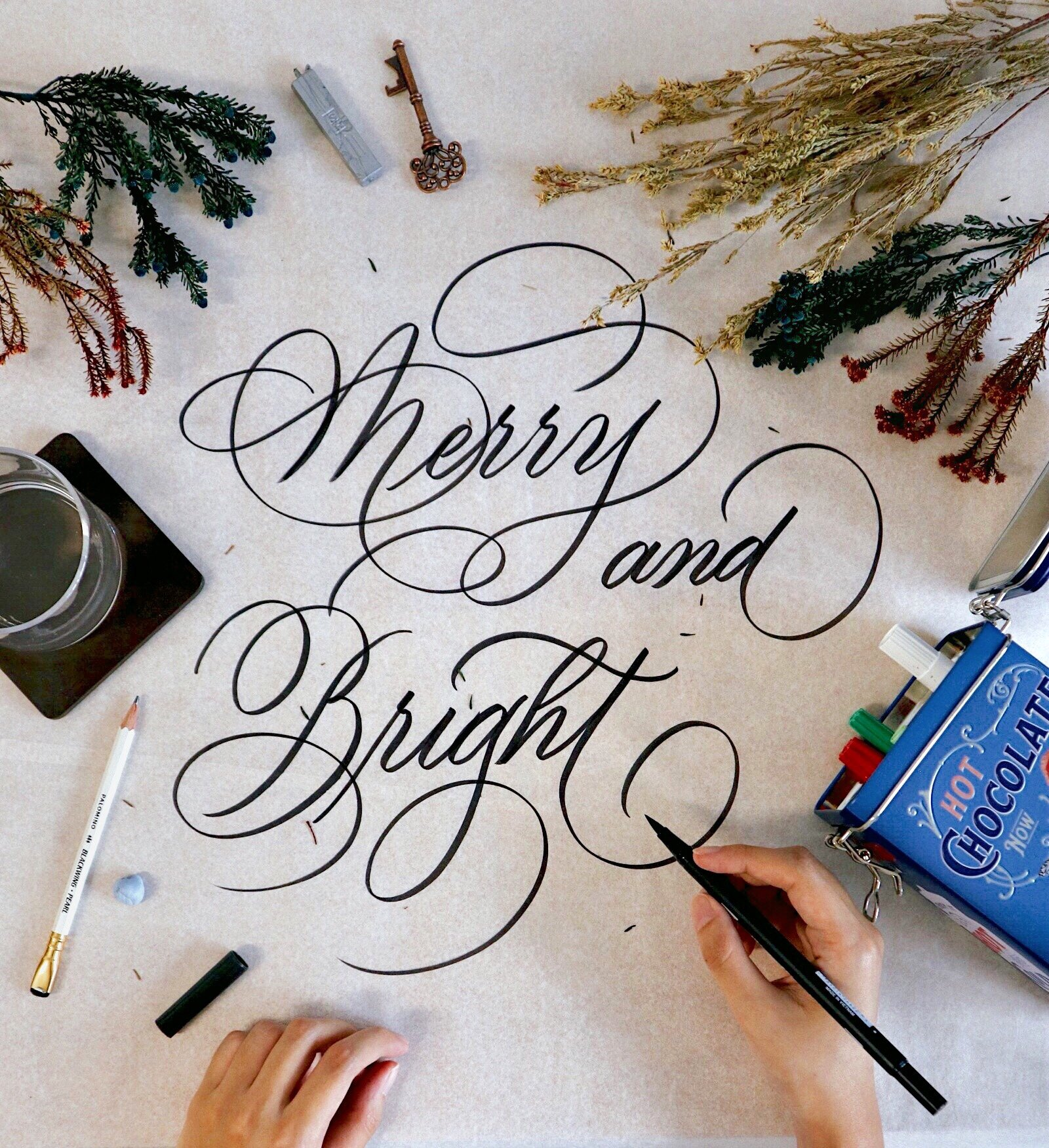 Brush Calligraphy Workshop - In this 2-hour workshop, join me in tapping into your artistic and creative self where we get to express our individuality and style. You will learn the principle skills of calligraphy, create beautiful letterforms and by the end of the lesson, have a new-found appreciation for an art form that is greatly grounded in history.
