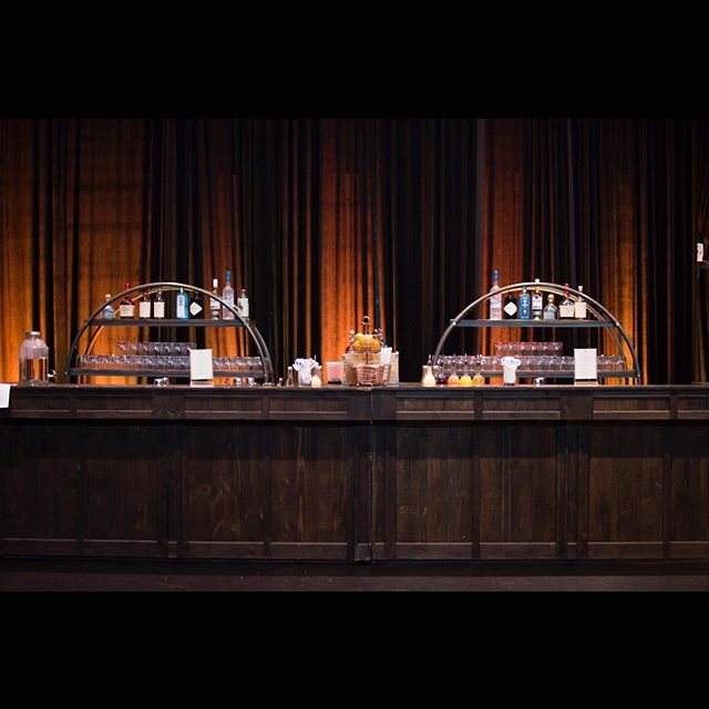 Pop up speakeasy bar in a theater space! Doesn't get more exclusive than this!