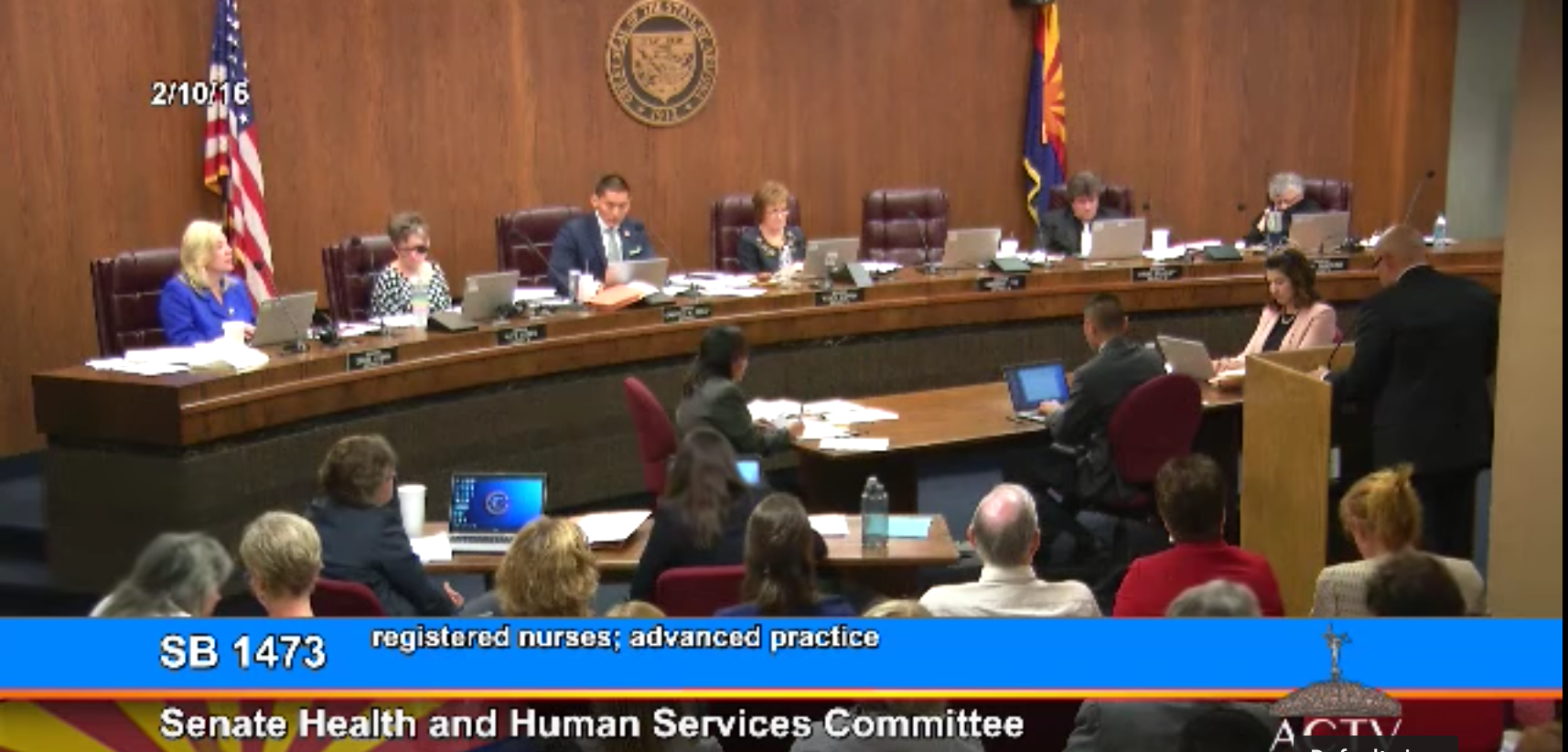 SB 1336 was a multi-year effort and began in 2016 as SB 1473. Here is Dr. Rob Schuster, MD FACS, testifying on the problem of surgeon liability and the high quality care CRNAs offer.