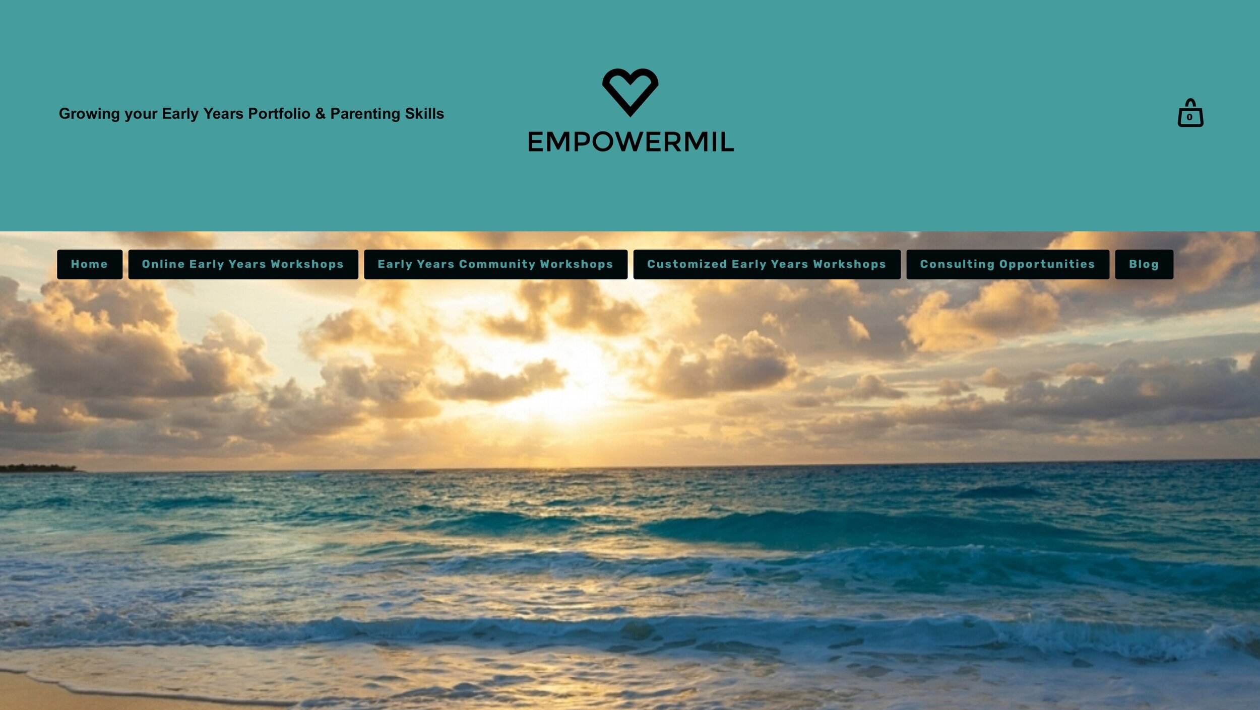 Empowermil - Donna Halme Designs created a Squarespace website design for Empowermil. This website was created so it reflected both the owner's holistic approach to life, combined with her love of humanity and nature. All calendars, community and online e-commerce workshops are displayed and incorporated with an ease of registration, payment, download, and certification by visitors to her site. A new business email through GSuite was setup along with the registration of the new domain name. All social media accounts were connected plus a Blog was added. The Empowermil website incorporates many Calendars in tandem with eCommerce in online and Community workshops, along with the ability for students to pay and download these workshops. Empowermil ecommerce visitors can access a constant, secure connection on every page of the site. Through SSL, Empowermil visitors see a lock icon next to the URL in the browser, showing that their information is safe. This is a technology that secures the connection between the browser and the website being visited.