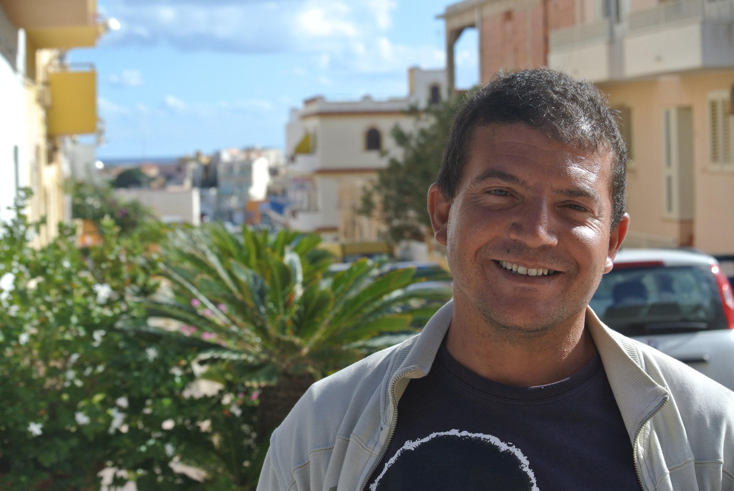 Hassen in Lampedusa, Italy. 12 October 2017.  © Pamela Kerpius
