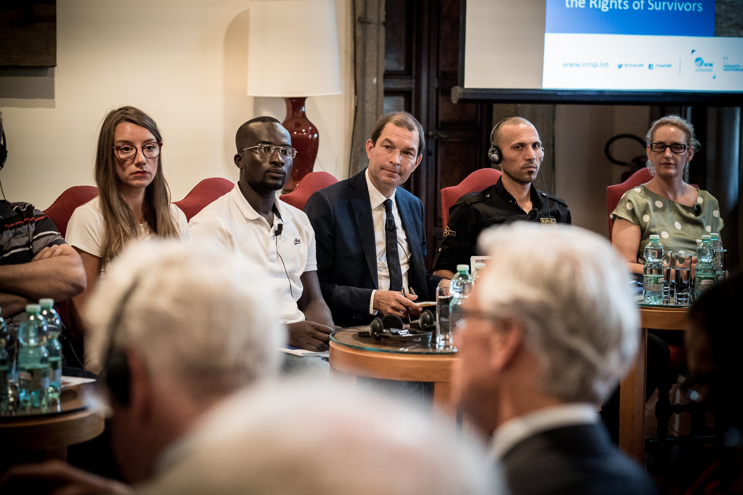 The conference, at the Embassy of Switzerland, Rome. 11 June 2018. Image courtesy of the  ICMP .