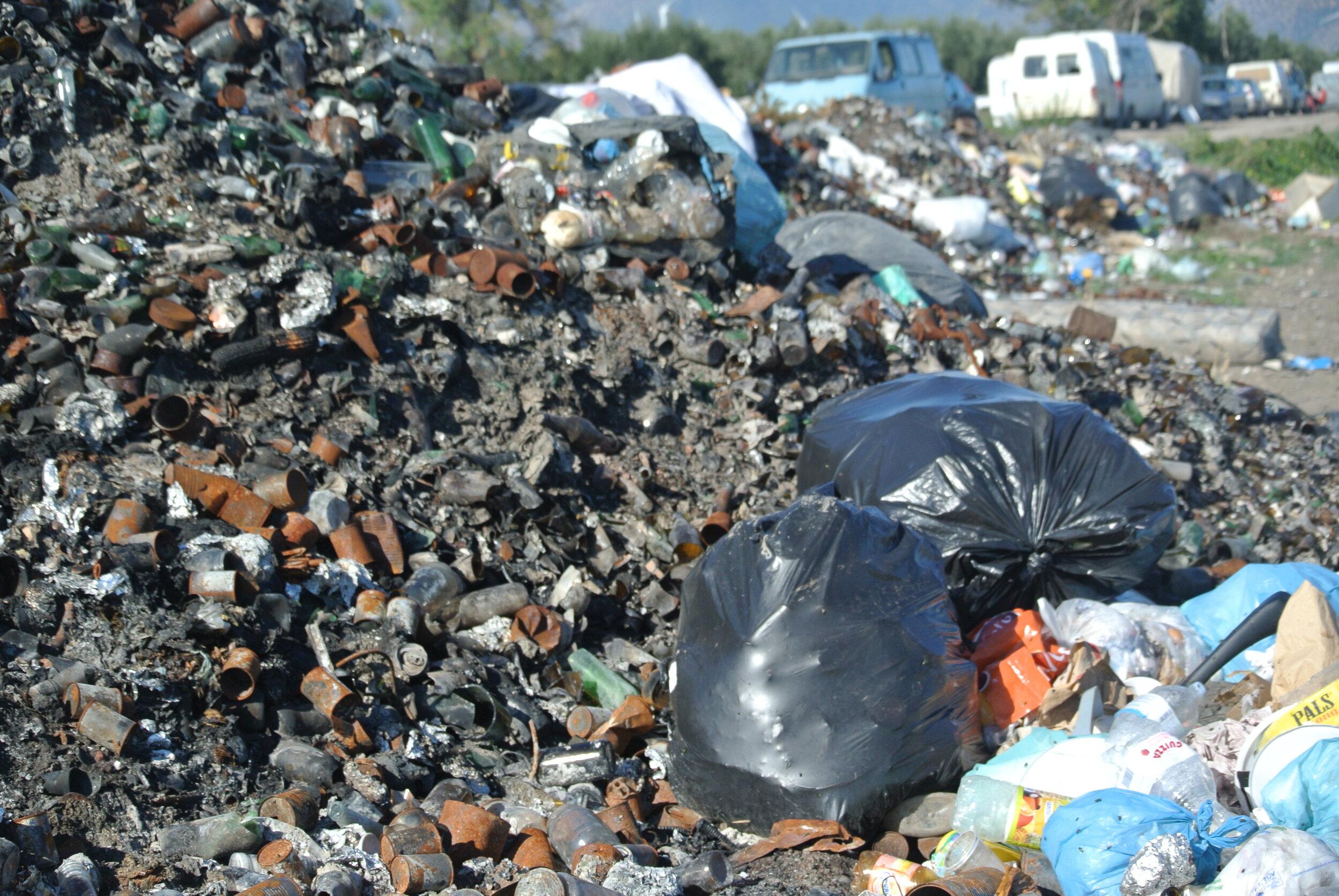 The trash upclose. Foggia, Italy. 8 October 2019. ©Pamela Kerpius