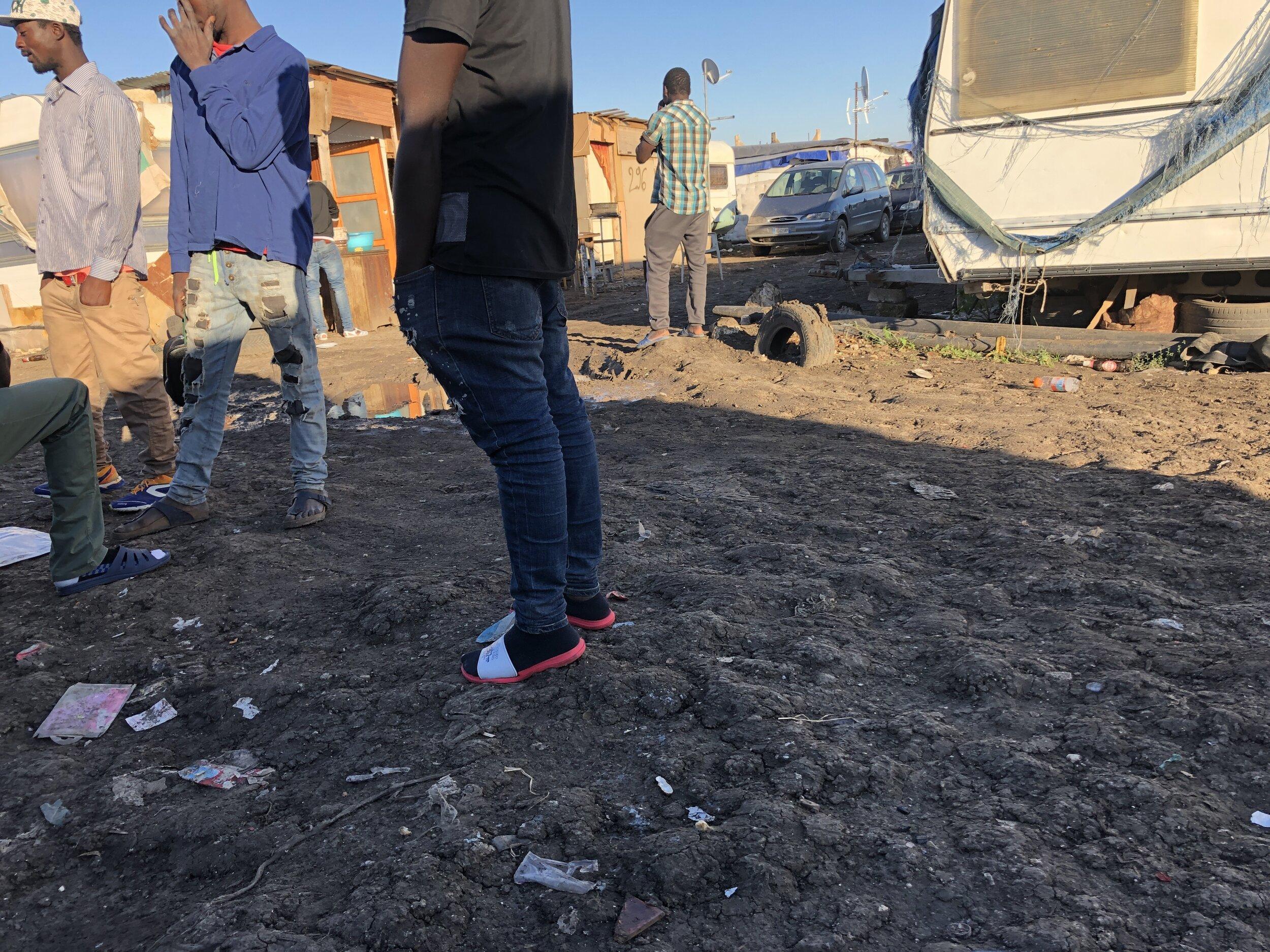 Gran Ghetto. Foggia, Italy. 8 October 2019. ©Pamela Kerpius