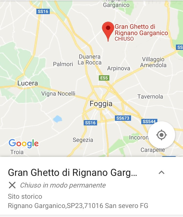 """""""Chiuso: Google Maps says the ghetto is closed (chiuso), but it just goes by a different name."""