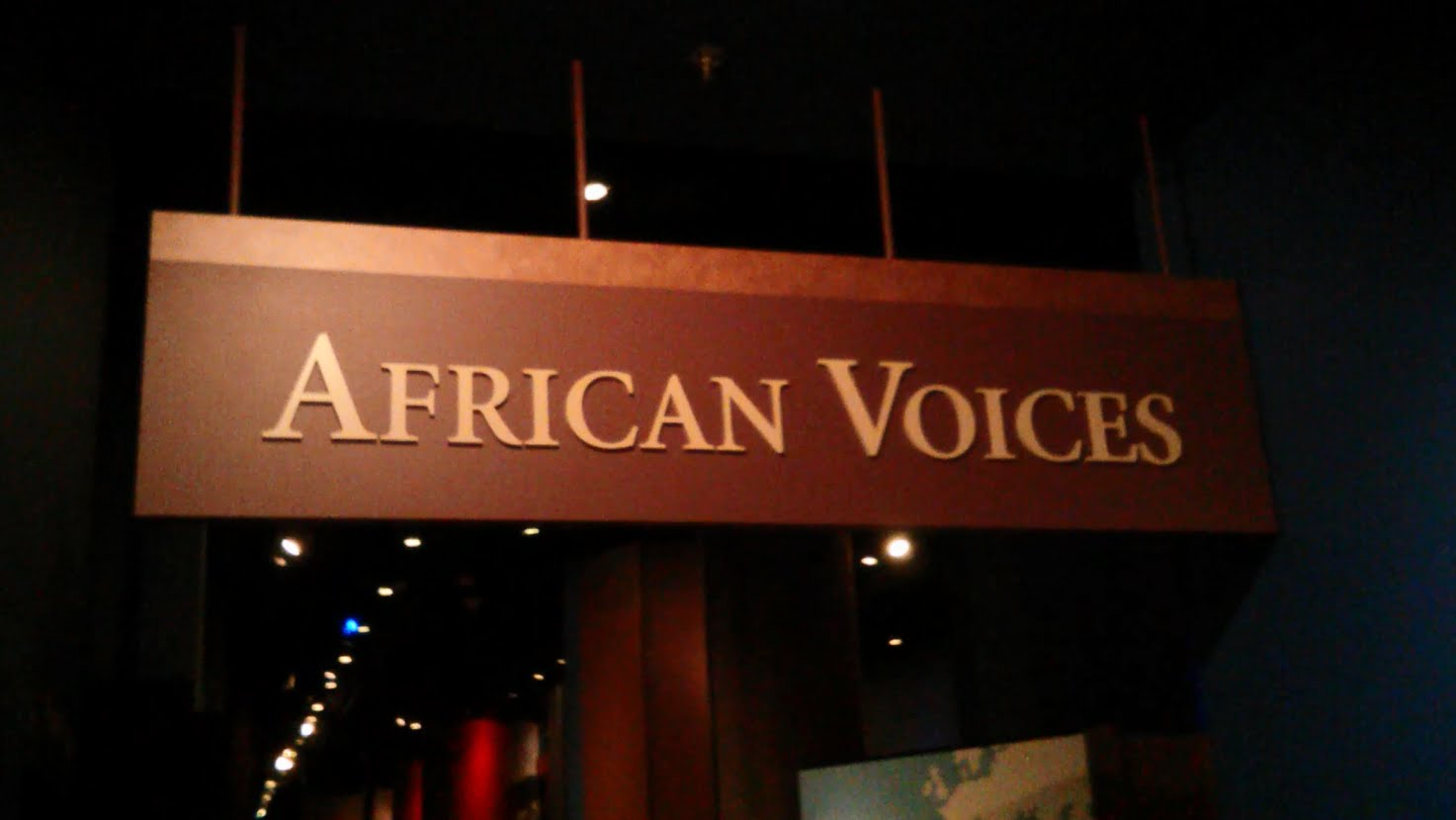 African Voices exhibit, National Museum of Natural History
