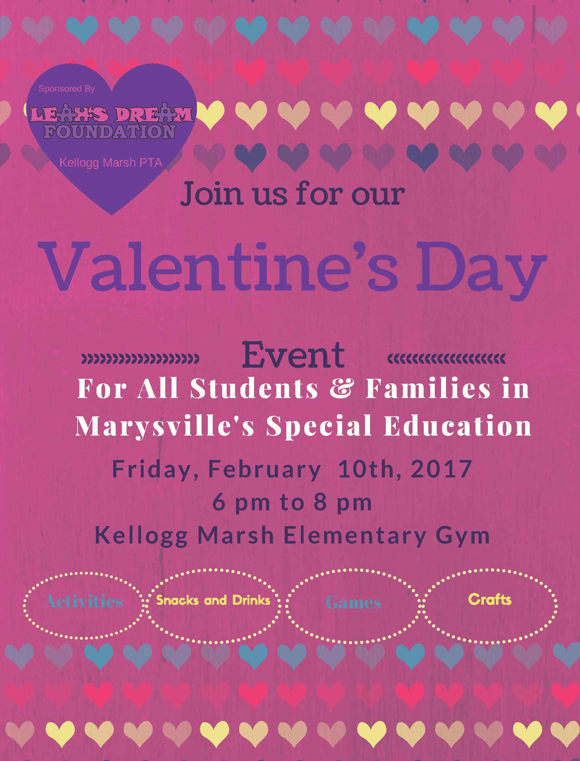 2017 Valentine's Day Event