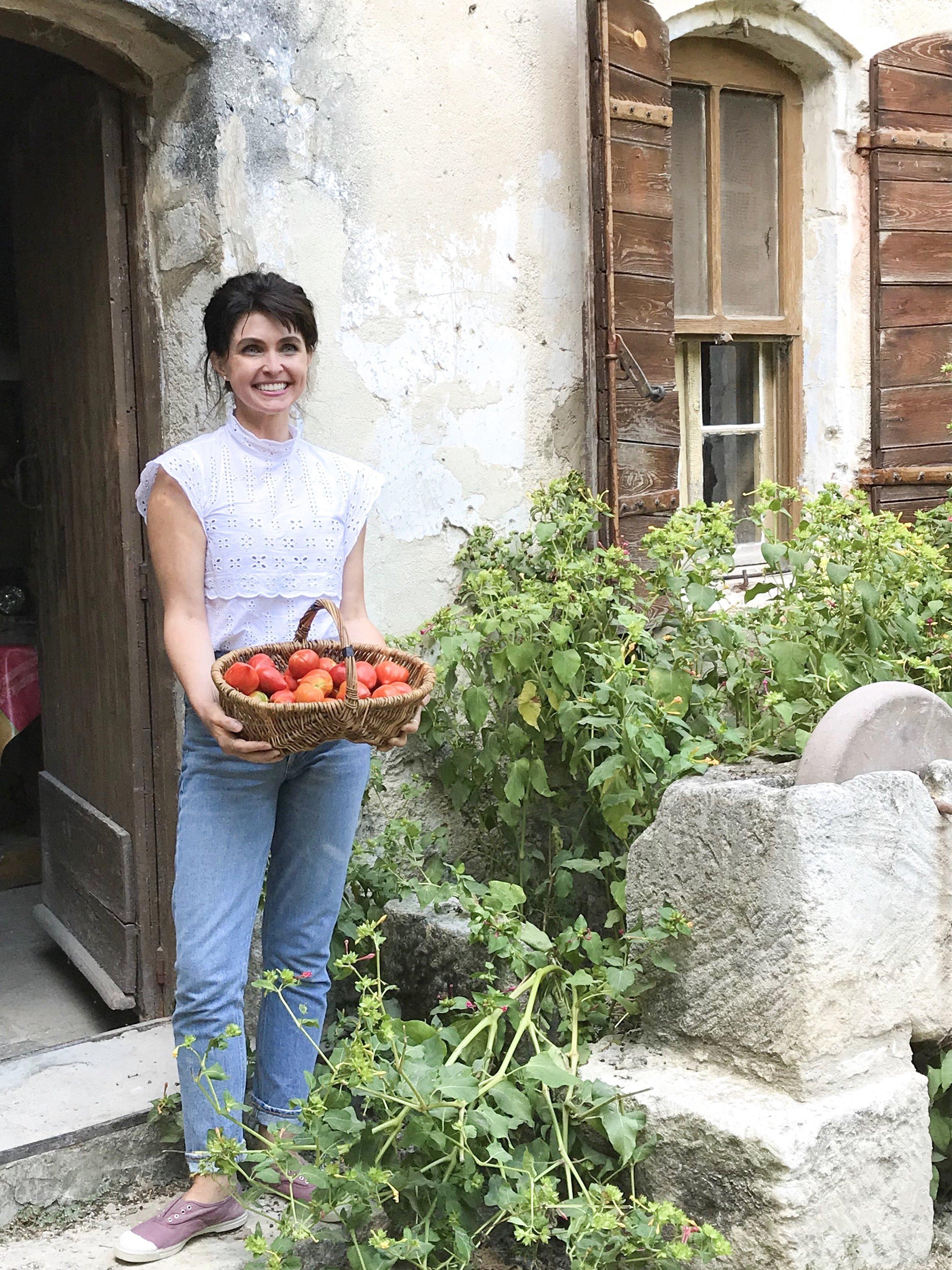 French Tomatoes - from Lolo's garden, Mas de la Pyramide