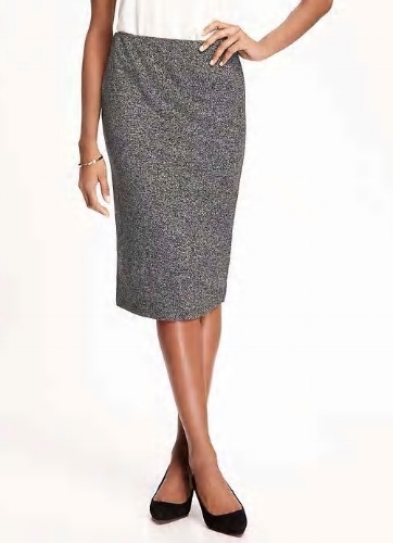 Sweater-Knit Pencil Skirt - Sale $4.78