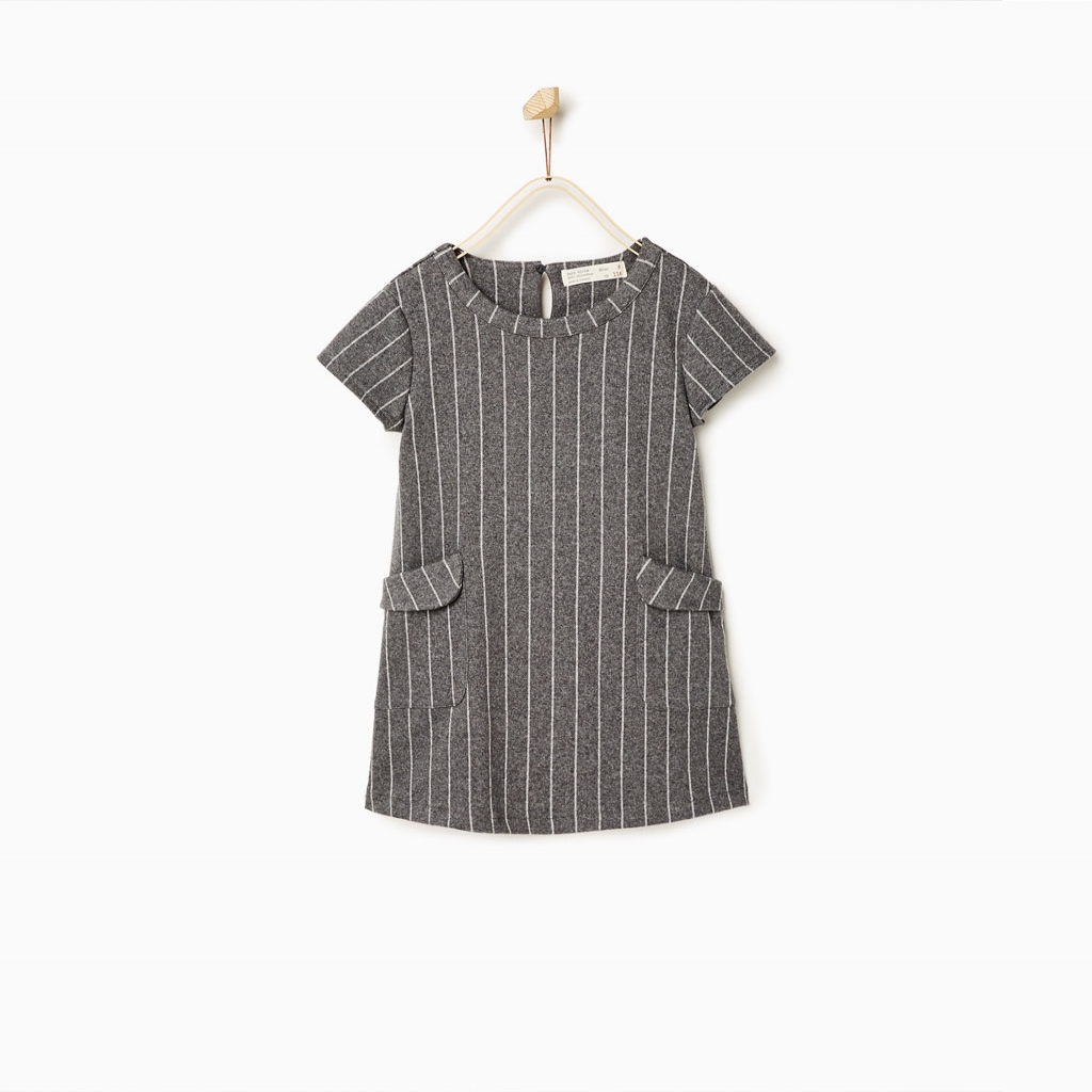Girl's Knit Pinstripe Dress: Regular Price $29.90, Sale $9.99