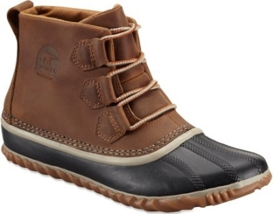 Sorel Out N About Leather Boot: Regular Price $115.00, Sale $59.83