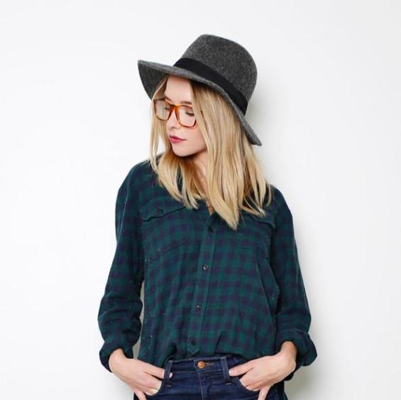 Lizzy Gray Wool - Sale Price $25.60, Regular $32