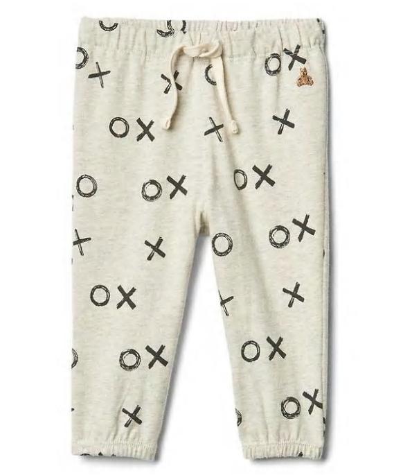 Printed Jersey Pants: Regular $14.95, Sale $2.99