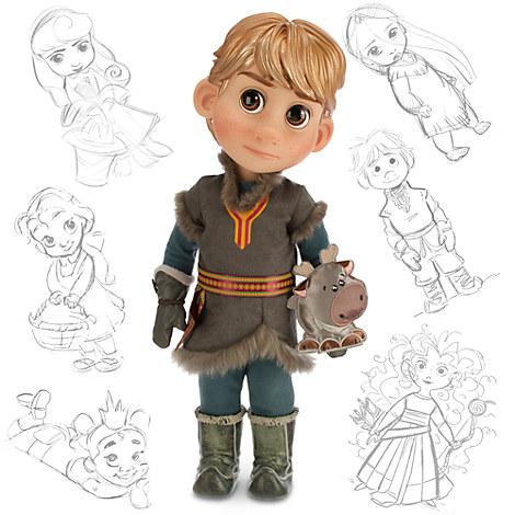 Disney Animators' Kristoff Doll: Sale $4.79, Regular $24.95
