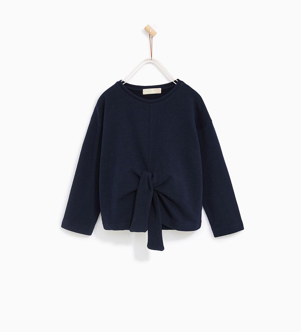 Girls Plush Sweater w/Bow: Sale $9.95, Regular $19.90